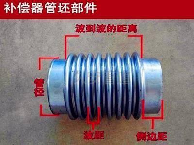 沟槽式波纹补偿器结构图