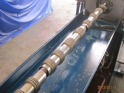 波纹管生产现场